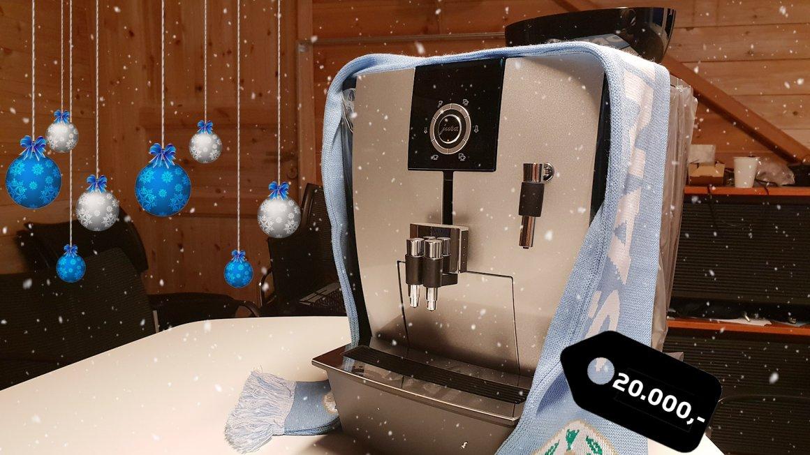 Julekampanje: Vinn kaffemaskin til 20.000kr!