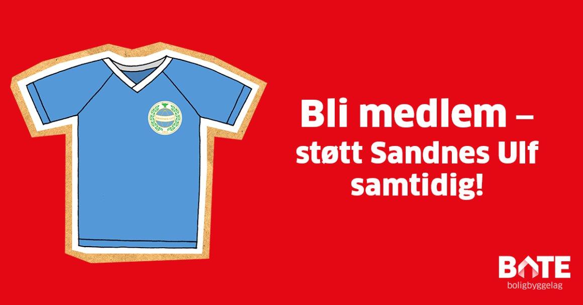 Denne fordelen gir automatisk støtte til Sandnes Ulf