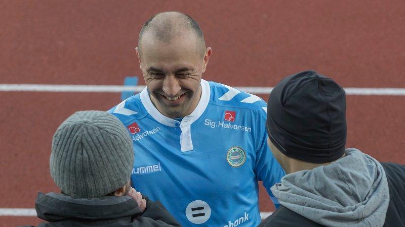 Zajic slutter som spiller, men gleder seg til å bidra som trener. Foto: Rune Eikeland.