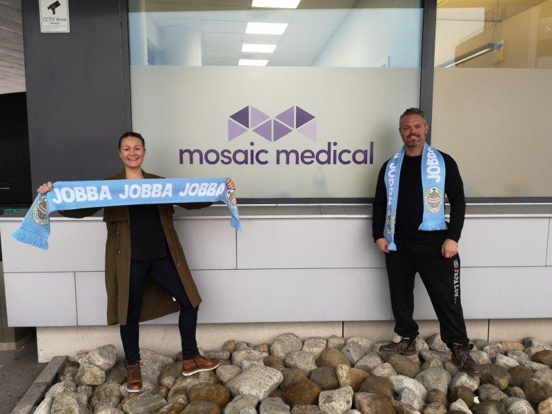 Mosaic Medical er ny samarbeidspartner for 2020-sesongen.