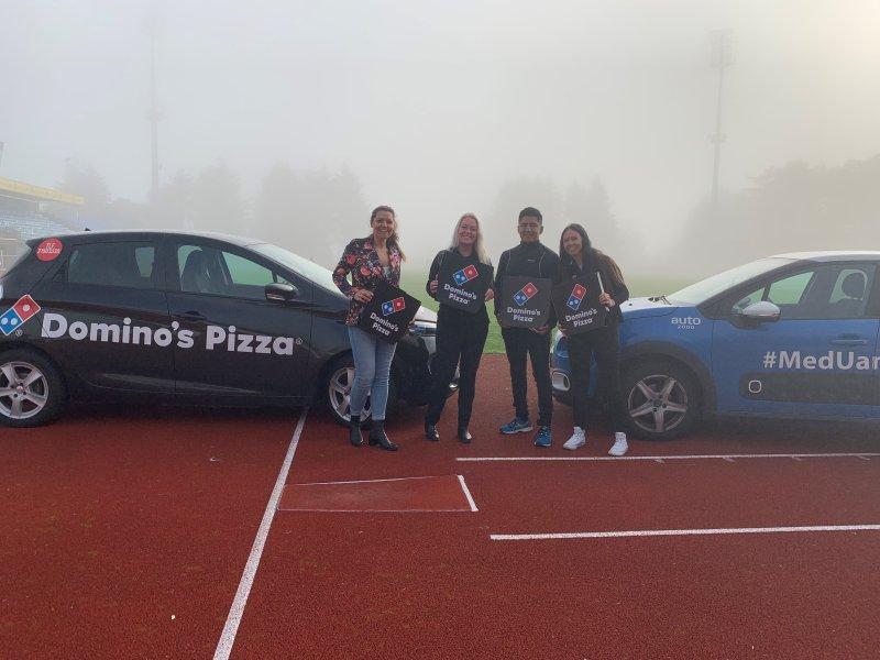 Domino's Pizza blir gullpartner i 2020.
