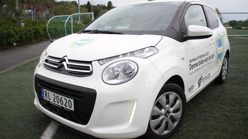Fjorårets lotteribil var levert i samarbeid med Auto 2000, og bedriften vil være en viktig sponsor også i 2018.