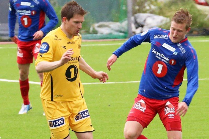 Kristoffersen (til høyre) ser frem til å bidra på banen for Sandnes Ulf. Foto: tuilfotball.no.