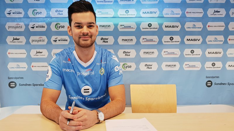Aleksander Klubben blir en av to E-sportspillere fra Sandnes Ulf.