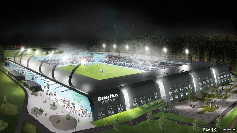 ØsterHus Arena er fremtidens fotballarena, og blir et anlegg også for barn og unge.