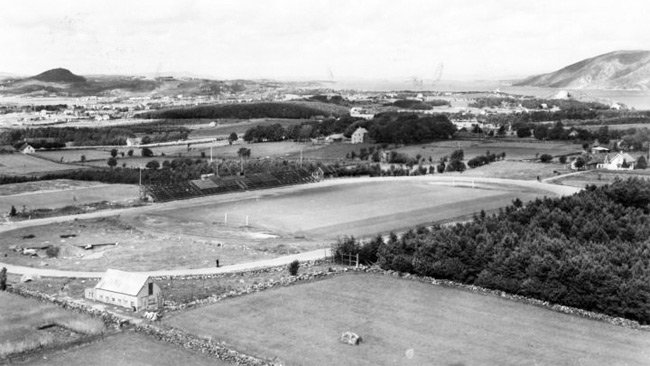 Sandnes Stadion anno 1946.