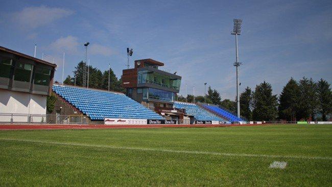 Sandnes Stadion anno 2012.