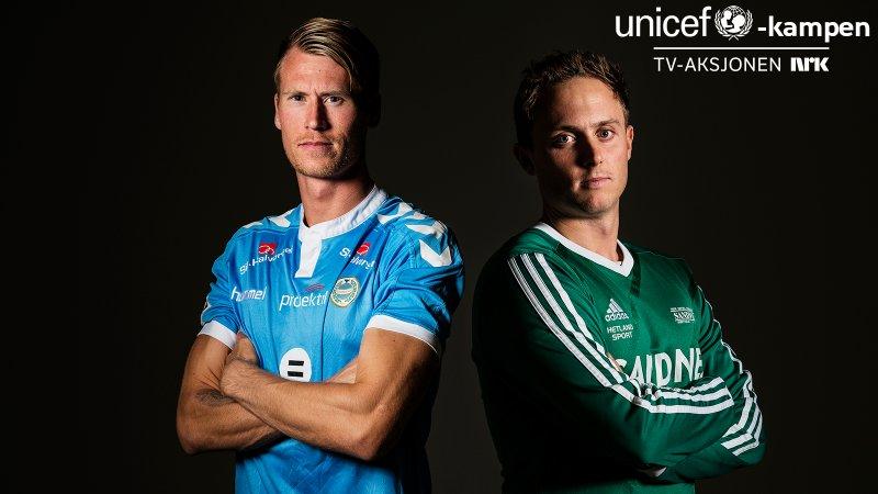 Sandnes Ulf arrangerte sammen med Sandved veldedighetskamp til inntekt for TV-aksjonen og unicef i 2017.
